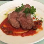 モダンタイムス - 豚肉トマトソース