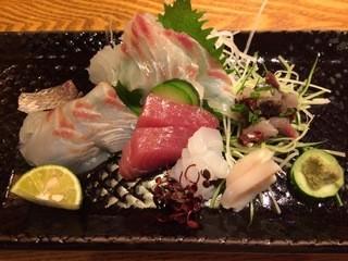 栄寿司 - 刺身盛り合わせ