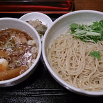 彩華 - 中華麺酒家 彩華 @茅場町 つけめん醤油 720円(税込)