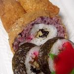 食堂 たからや - 料理写真:あぶらげ巻寿司盛合せ