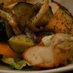 barco - サクッと揚がった鶏肉がかなり美味しい!