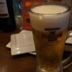 barco - とりあえずビール!暑かったので(笑)