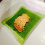 28895859 - 山口県萩産甘鯛のうろこ焼きといろいろな山菜のアクアパッツァ