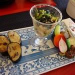 蓬の里 - 野菜の旨みを存分に楽しめる一皿になっています