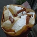 ヒステリックジャム 神戸元町本店 - バナナショコラ生クリーム♪