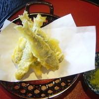 喜三郎 - 稚鮎の天ぷら