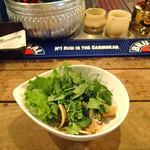 グラマラス - シャン菜のサラダ