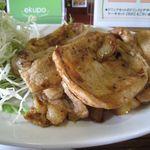 黒川食堂 - 厚めの肉