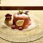コントワール ミサゴ - 2014.7 ライチと薔薇のムース(1,000円)