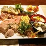 コントワール ミサゴ - 2014.7 冷前菜の盛り合わせ(3,500円)