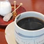 強羅天翠 - 朝食⑨食後のコーヒー