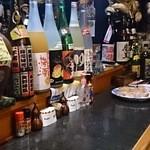 角から二軒目チッチ - 店内も阪神推し