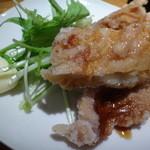 28899339 - ランチセット(三河赤鶏のミニ唐揚げ)