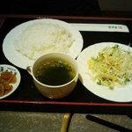 清香園 - 和牛焼肉ランチのセット