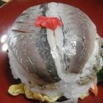 温泉民宿かくた - 料理写真:温泉民宿かくた ダンダン寿司