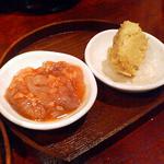 スリール - たこの塩辛&味噌豆腐