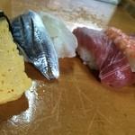 金鮨 - 料理写真:握りずし(中)