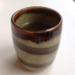 喫茶室ルノアール - サービスのお茶(雨の日で寒いからかな?)