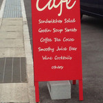 サニー サイド カフェ - 看板