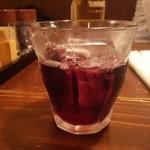 串カツのぼんちゃん - かちわりワイン赤