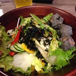 yakinikuiwa - 岩がグロテスクな岩サラダ