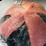 28905918 - スモークサーモンの海草サラダ 1,360円