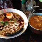 竹岡らーめん 梅乃家 - ラーメン・ミニカレー丼セット850
