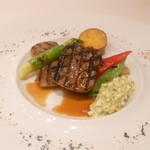 レストラン フウ - 肉料理:牛タンのグリエ