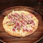 フォアローゼス - 冷静パスタとピザです