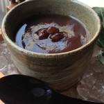 廚菓子くろぎ - 水羊羹