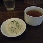 28909805 - ポテトサラダとスープ