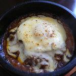 オッサ - 石焼チーズカレー卵のせ