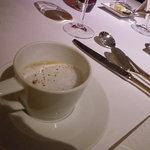ジョルジュ マルソー - キノコのスープ、カプチーノ仕立