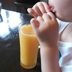 かふぇ かじ川 - オレンジジュース