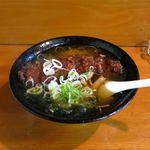 味処 じんべ - とんかつ塩ラーメン(720円)