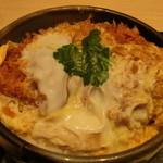 28915803 - 半丼(かつ丼)
