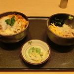 28915805 - 半丼&半そばセット