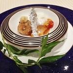 トゥ・ラ・ジョア - 鮎の一皿