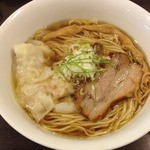 Tsurumen 大阪城北詰店 - 醤ワンタン麵(900円)