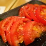 28917845 - 特製ドレッシング冷やしトマト