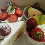 五月ヶ瀬 - 美味しそうなケーキ
