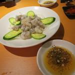 焼肉・韓国料理 KollaBo - サンチッナ(活け蛸の踊り食い)