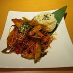 焼肉・韓国料理 KollaBo - ゴルベンイ・ムチム(ツブ貝と野菜のピリ辛和え)