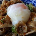 28919899 - いっぷく丼+温泉卵