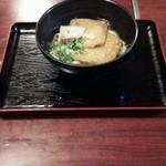 麺文 - 料理写真:きつねうどん600円