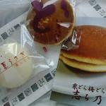 28920831 - 白い夏うさぎ・芋バターどら焼き