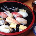 橘寿司支店 - にぎりランチ(大盛)