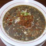 熊谷 - 熊谷 坦々麺(黒) 650円