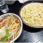 大塚 大勝軒 - もり野菜(並) 880円 すっきりしたつけ汁とプニプニな麺。コレコレ♪