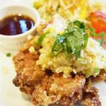 ガスト - ネギ生姜たっぷり油淋鶏ダブル
